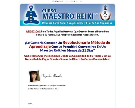 [click]where To Shop For Curso Maestro Reiki - Unico En Espa Ol .